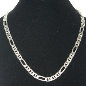 Very large Sterling silver Men's Chain necklace